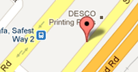Desco Print at Shk. Zayed Road, Dubai